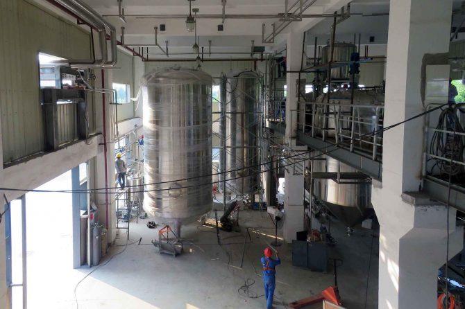 Constructing the Novosana Feed Factory in Taicang